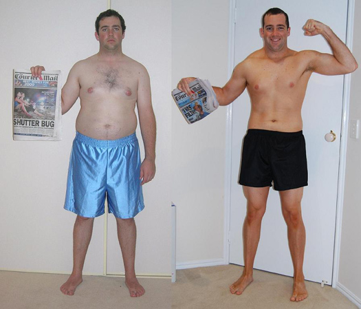 fat loss contest winner