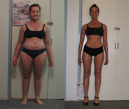 female fat loss contest