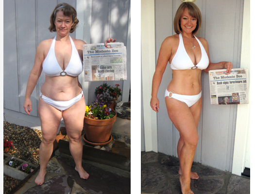 body transformation women