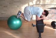 ab ball exercise