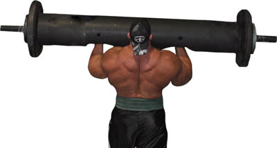 log strongman equipment