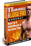 gain muscle lose fat