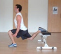 Bulgarian Split Squat Bodyweight Exercise