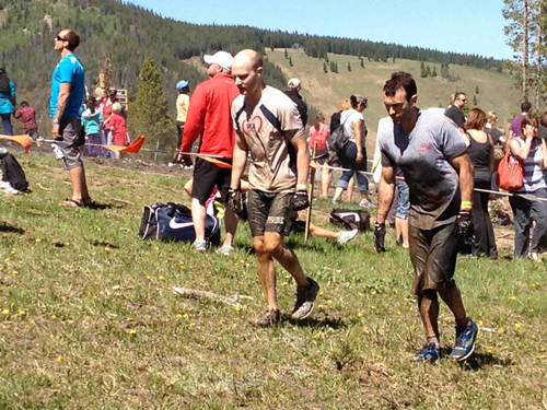 Here we are getting muddy...and tough?