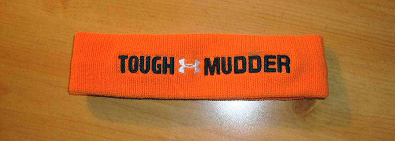My Tough Mudder headband