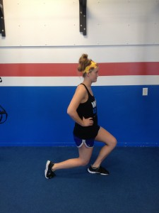 Lunges without perfect form