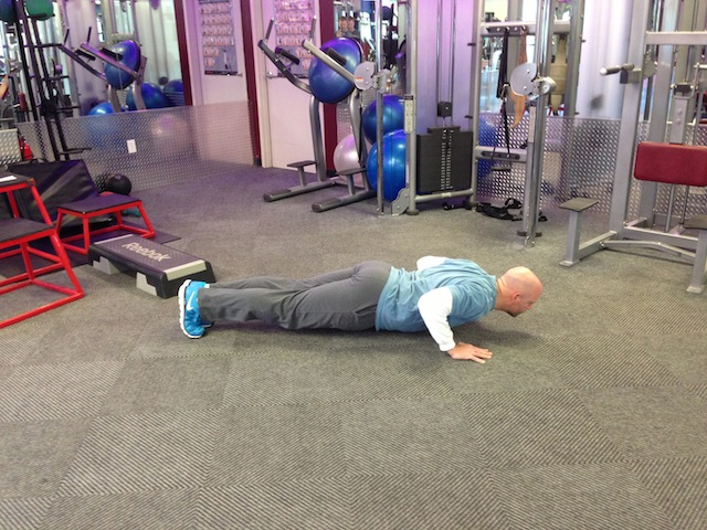 Mike T Pushup 2
