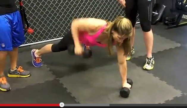 Renegade Burpee Combo Workout