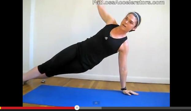 4-Min NO Equipment Ab Workout