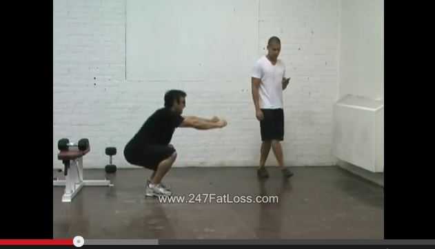4-Minute Bodyweight Squat Finisher