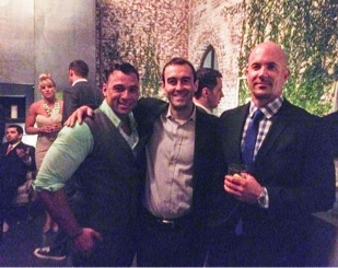 Roman, ol' CB, and Jay at Roman's wedding - amazing times