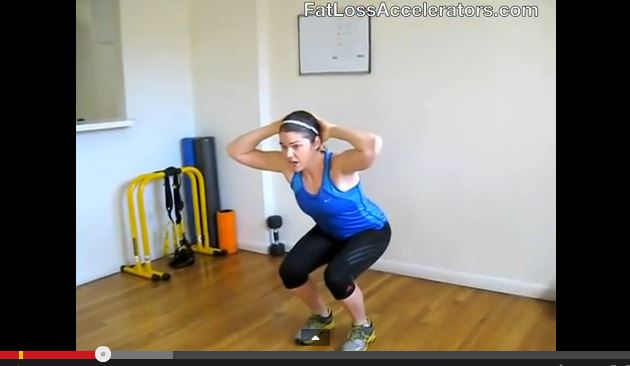 4-Minute Lower Body Circuit Challenge