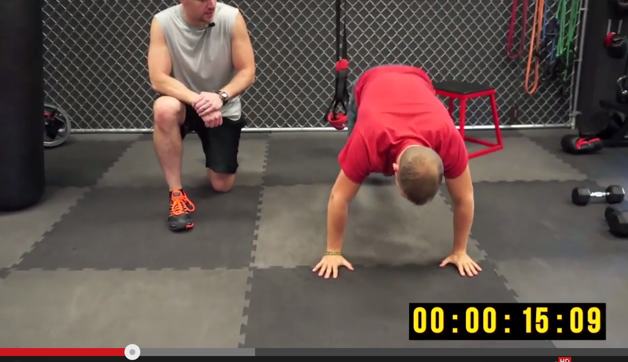 Evil Burpee Metabolic Finisher