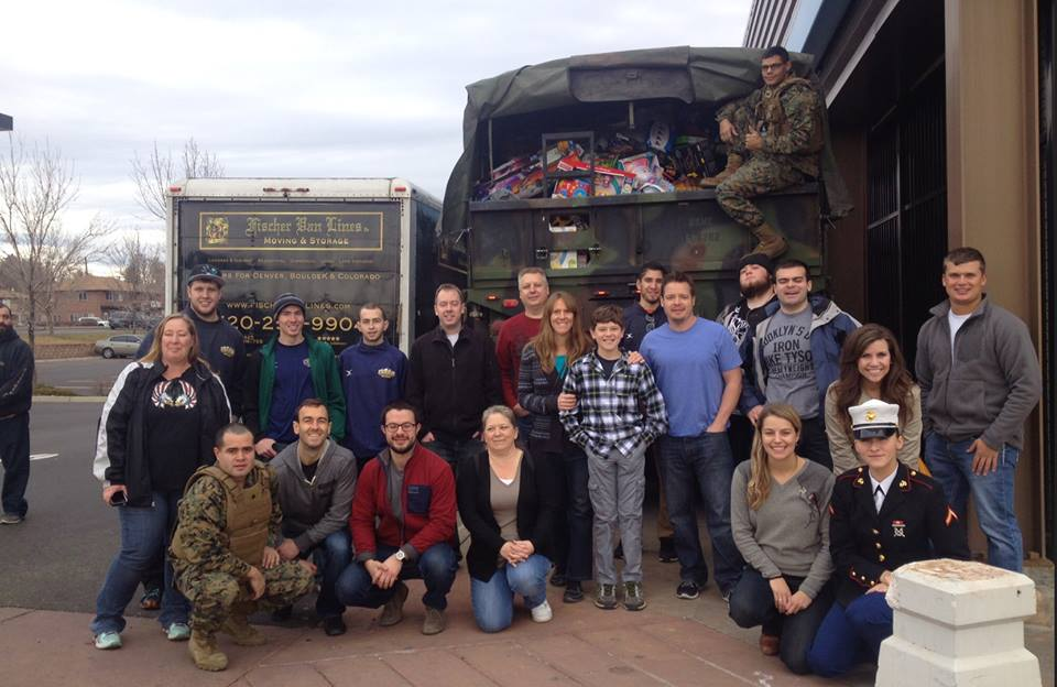 The 3rd Annual Denver Marines Toys for Tots Drive with Early to Rise