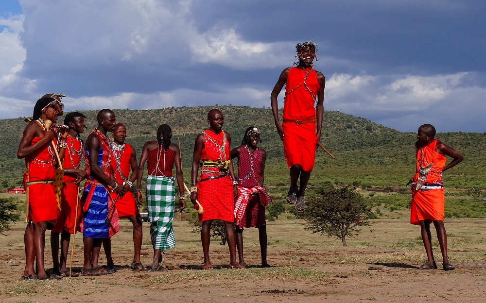 Mara Young Men Jumping