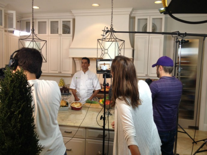 Chef Filming