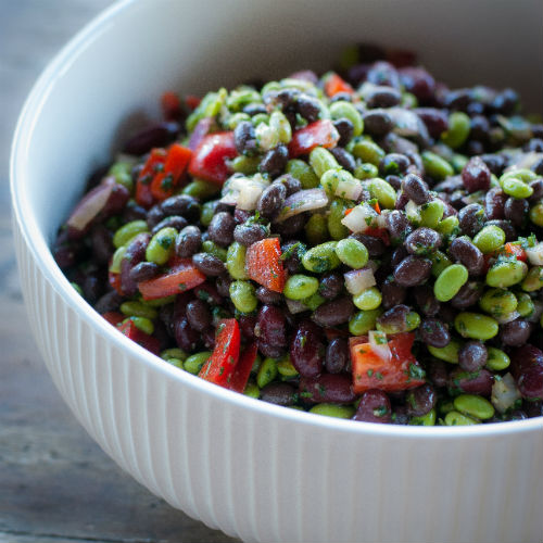 Three Bean Salad - Square