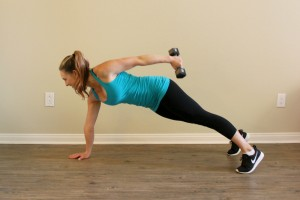 Plank Tricep Extension - 2