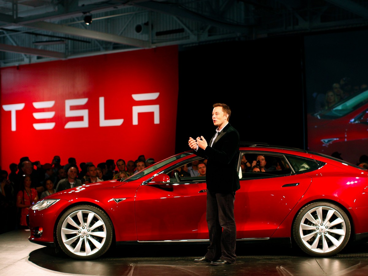 Tesla had a rowdy night…