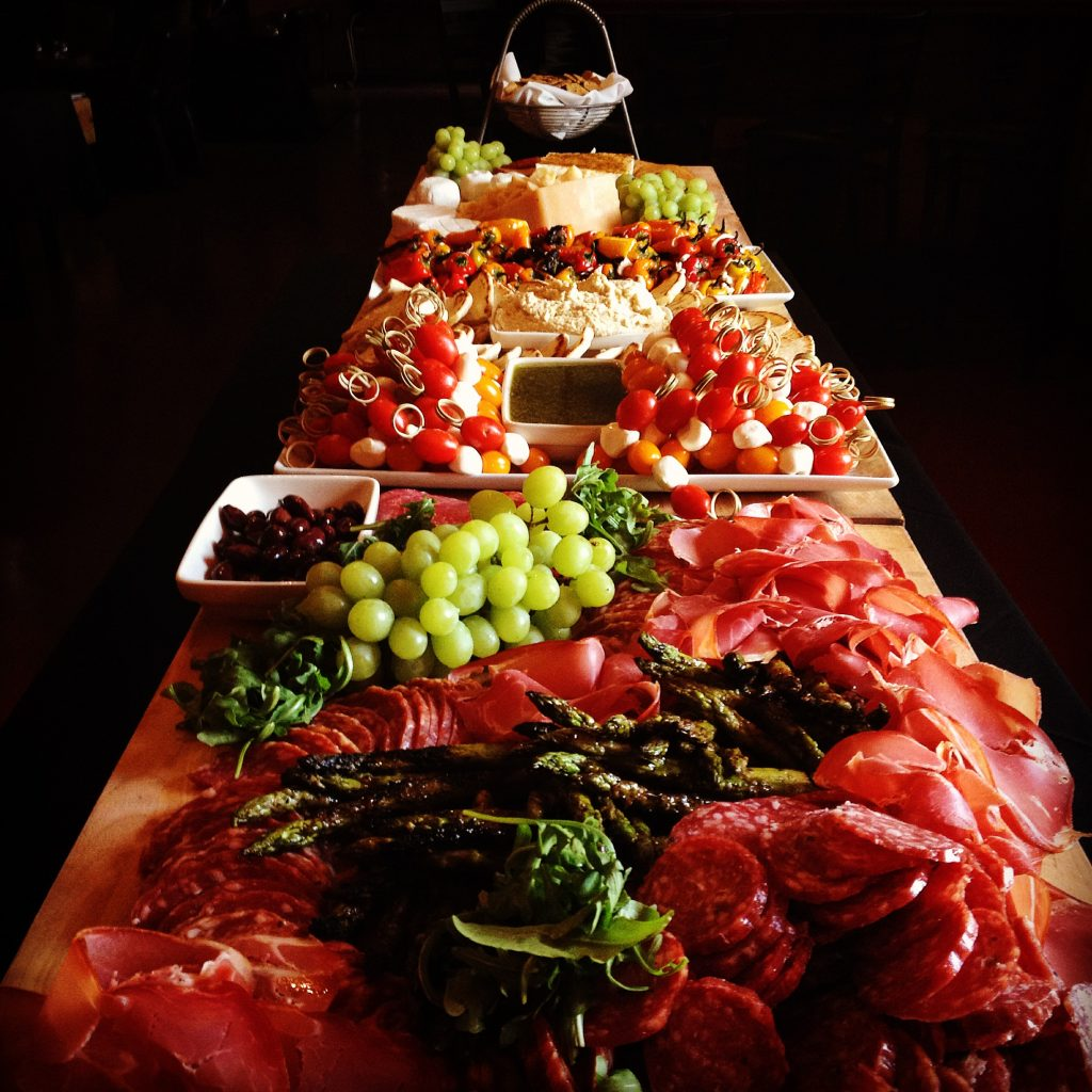 buffet for a crowd