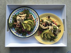 Blueberry Kale Salad 1