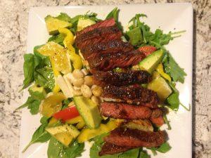 SW Steak Salad
