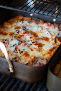 best healthy baked ziti casserole