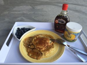 Breakfast: Healthy Pancakes Recipe!