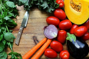 high-fiber vegetables