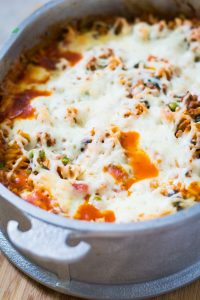 Healthy Homemade Pizza Casserole Recipe