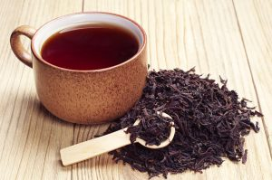 Black tea caffeine