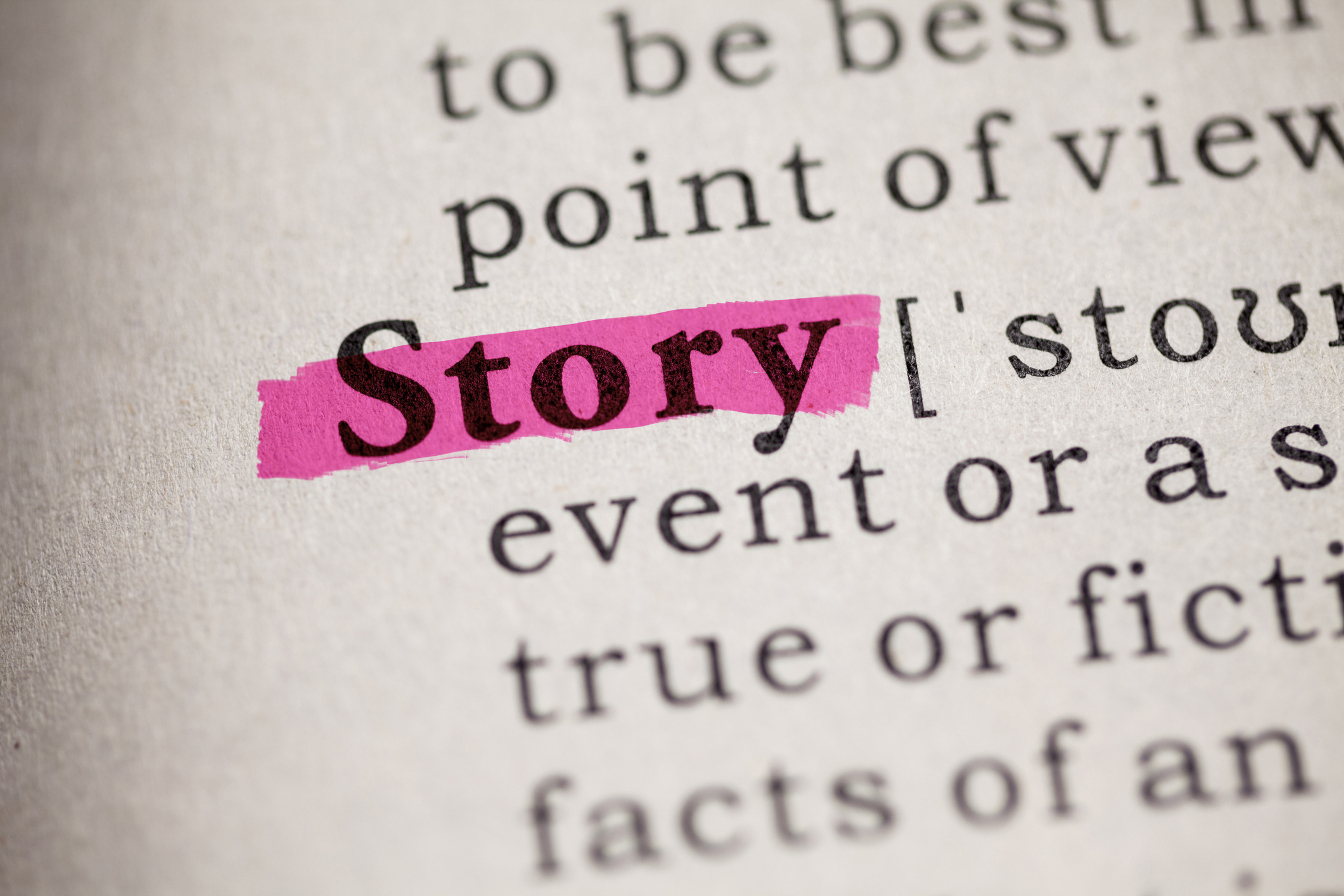 Becoming Aware of the Stories We Tell Ourselves