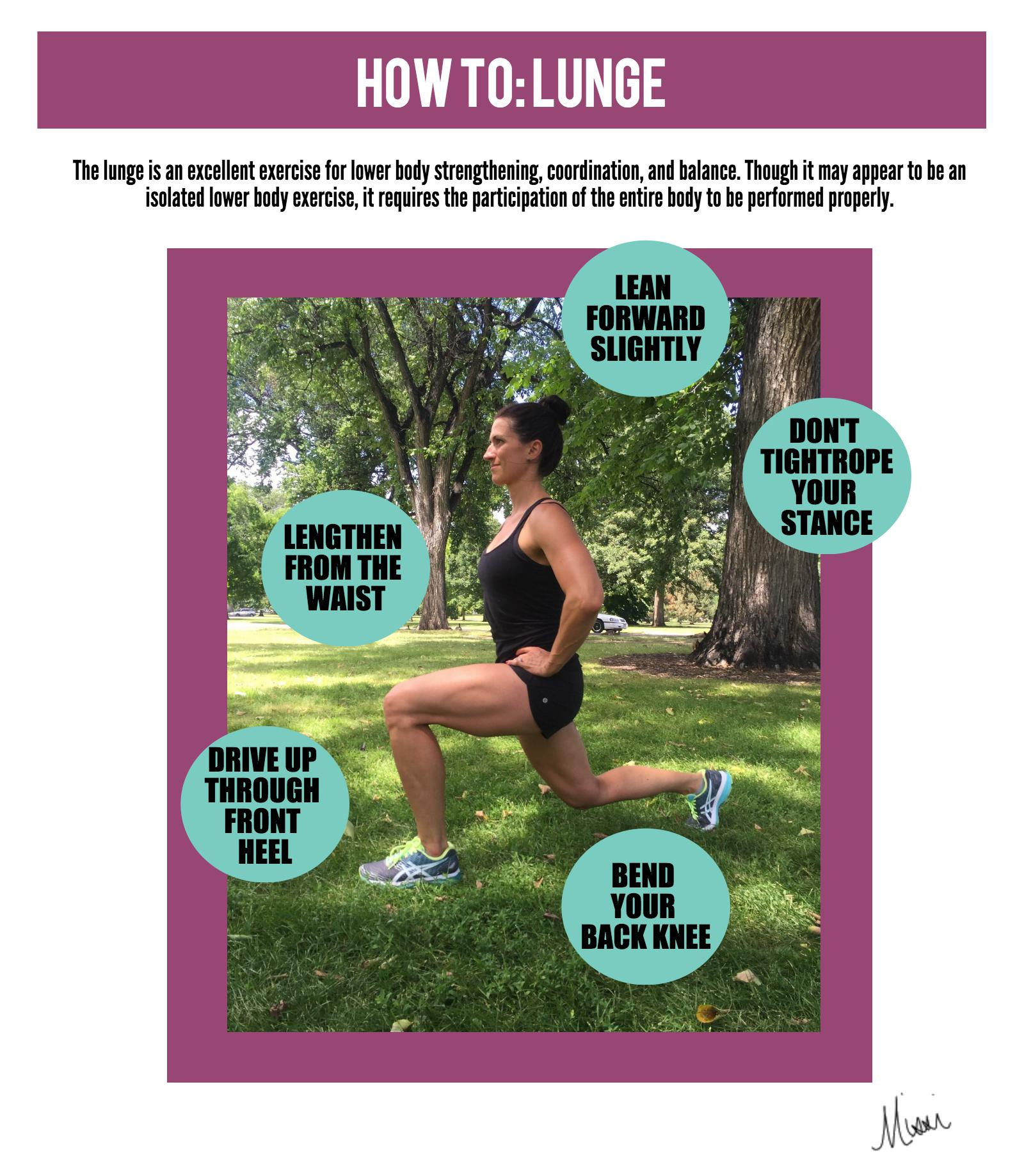 Misunderstood Exercise: Breakdown of the Proper Lunge