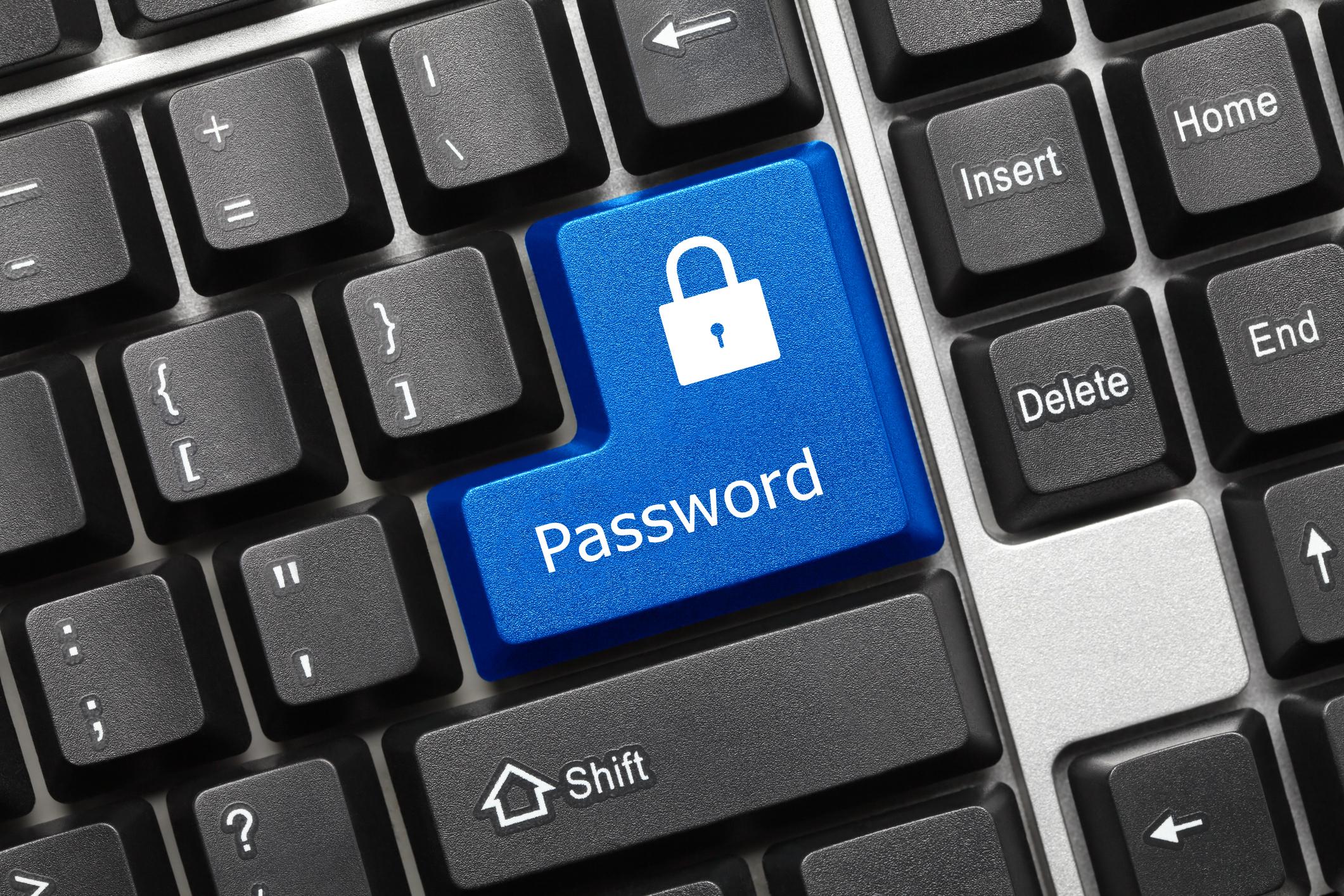 Password storage for productivity