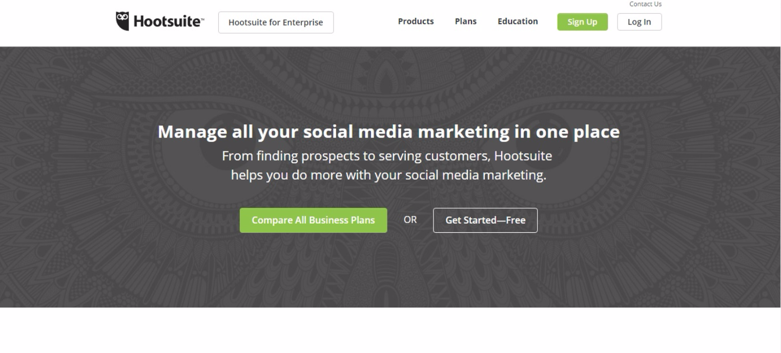 Time saving tool hootsuite
