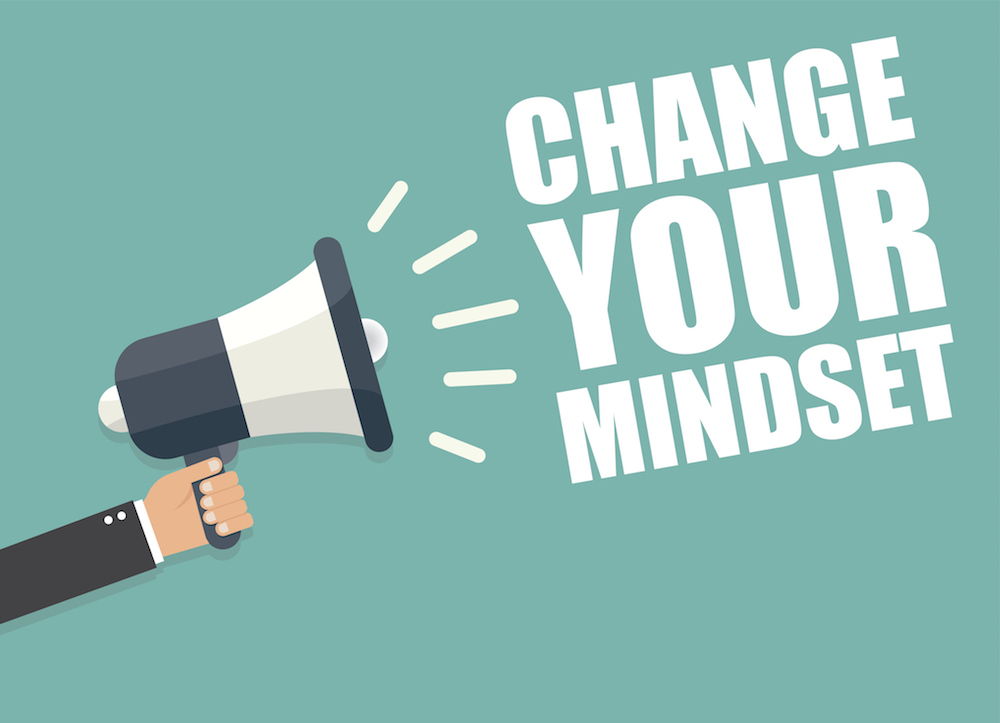 Struggling to move ahead? Here's how to change your mindset.