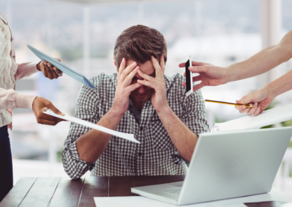 overwhelm recovering from burnout image